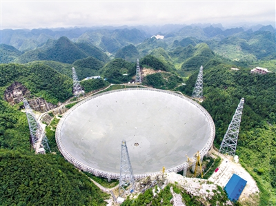 LYC successfully supporting the worlds largest single caliber radio telescope
