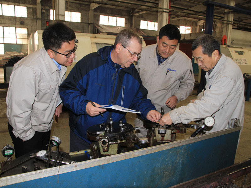 Luoyang LYC Bearing Corp. passed AAR certificate Annual Audit of M1003 Quality System
