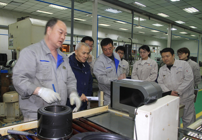 After a 3-day comprehensive and meticulous on-site audit, the audit experts expressed their approval of the companys supervision of the operation of the product in the system and agreed to pass the fourth supervision and audit of the CRCC year
